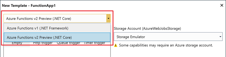 Cosmos DB in Azure Functions V1 and V2